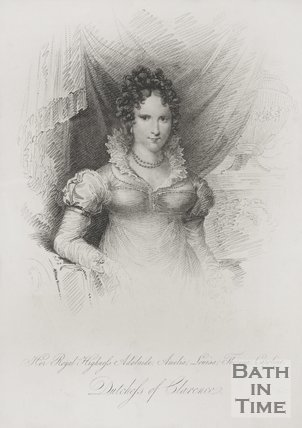 Portrait of Her Royal Highness Adelaide Amelia Louise Theresa Caroline Duchess of Clarence