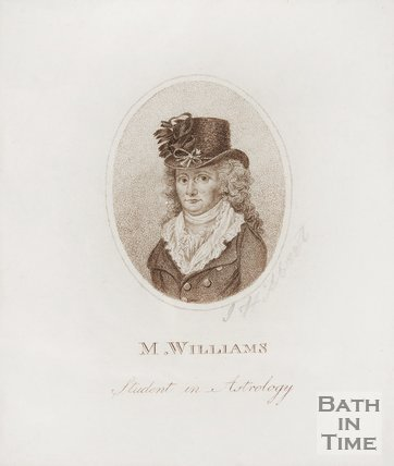 Portrait of M. Williams, Student in Astrology