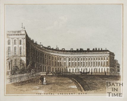 The Royal Crescent c.1851