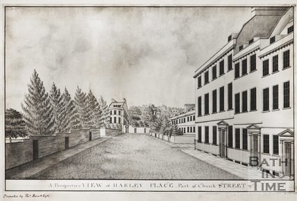 A Perspective View of Harley Place, Part of Church Street 1785