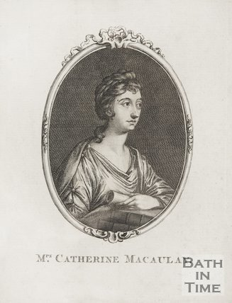 Portrait of Mrs. Catherine Macaulay