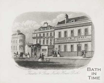Theatre & Beau Nash's House, 1861