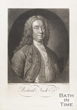 Portrait of Richard Beau Nash Esq. 1740