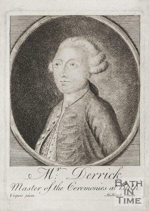 Portrait of Mr. Derrick, Master of Ceremonies at Bath