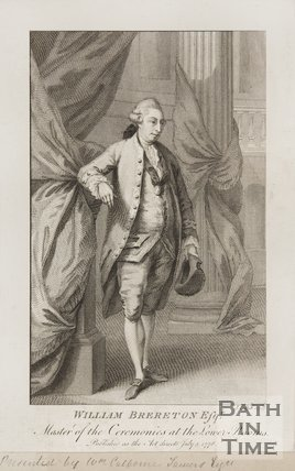 Portrait of William Brereton Esq., Master of Ceremonies at the Lower Rooms, 1778