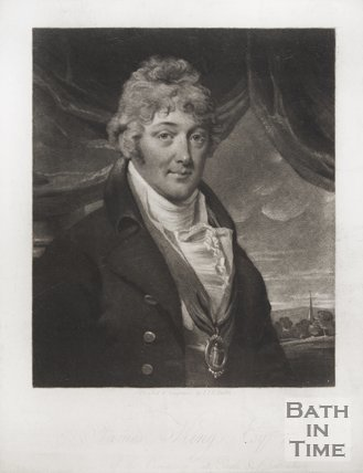 Portrait of James King Esq., Master of the Ceremonies, Lower Rooms 1805