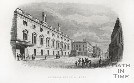 Assembly Rooms, Bath, 1845