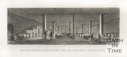 H.P. Hulbert and Co's North Cellar, Assembly Rooms, Bath, 1852