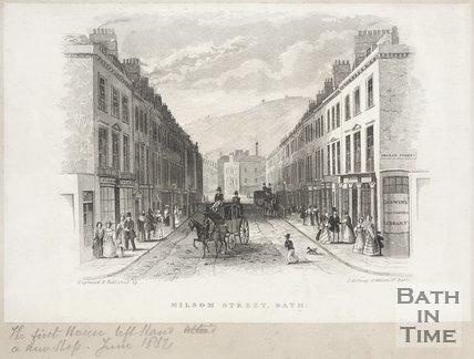 Milsom Street c.1837