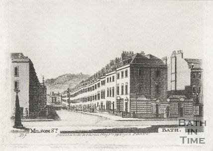 Milson Street. Bath, 1782