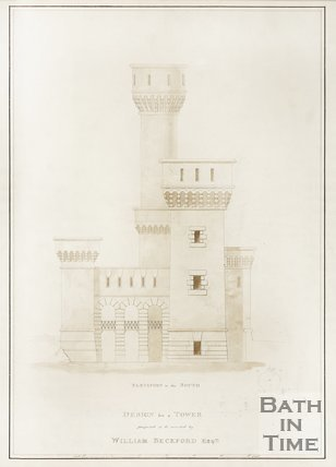 Design for a Tower proposed to be erected by William Beckford Esq.