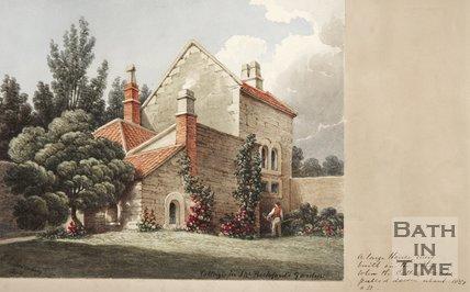 Beckford's Cottage, in Beckford's gardens