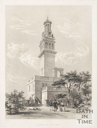 Exterior of Lansdown Tower 1844