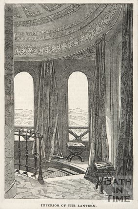 Interior of the Lantern, Beckford's Tower, 1845