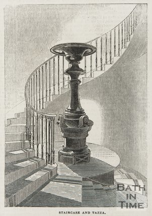 Staircase and Tazza, Beckford's Tower, 1845