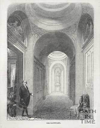 The Sanctuary, Beckford's Tower, 1844
