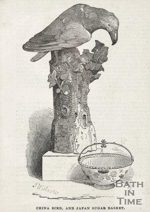 Beckford's China Bird and Japan Sugar Basket