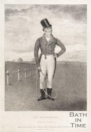 Portrait of Mr. Margerum, Clerk of the Bath Races c.1830?
