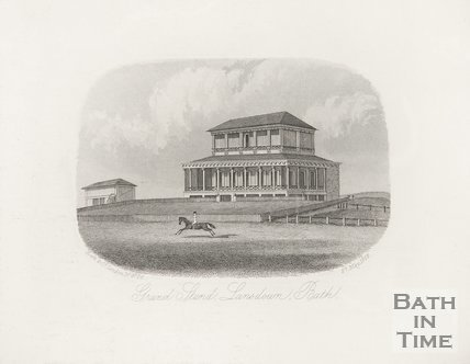 Grand Stand, Bath Racecourse, Lansdown, 27 May 1863