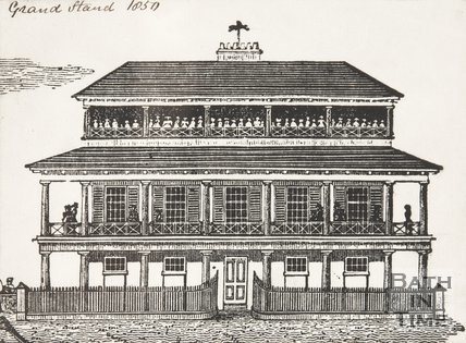 Grand Stand, Bath Racecourse, Lansdown, 1850