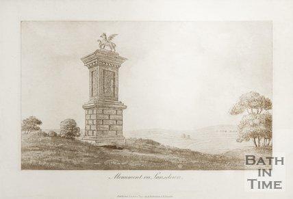 Monument on Lansdown c.1800