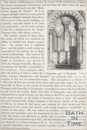 Article concerning the church of Kilkhampton.