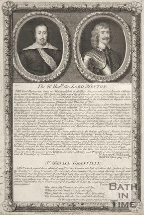 Article concerning Lord Hopton and Sir Granville.