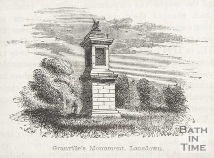 Granville's Monument, Lansdown Hill