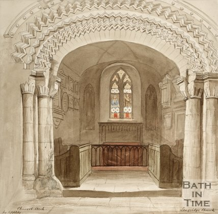 Chancel Arch from Langridge Church.