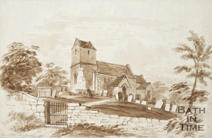 St. Mary Magdalene Church, Langridge 1857