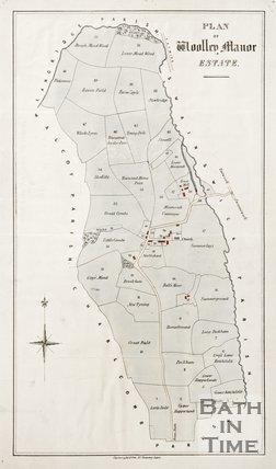 Plan of Woolley Manor Estate