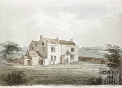 Prynne's House Swainswick front view. 1857