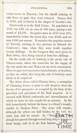 Page 235 from Rambles about Bath and its Neighbourhood, 1848