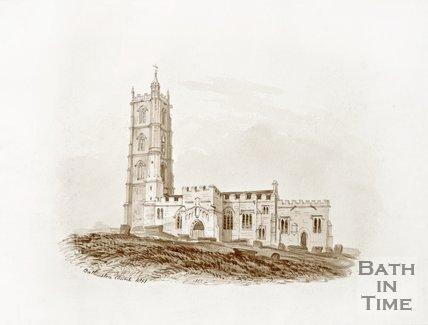 Batheaston Church 1851