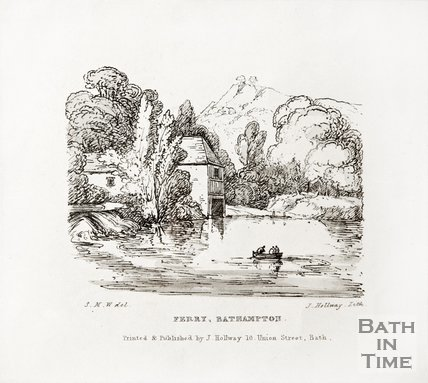 Ferry, Bathampton c.1840