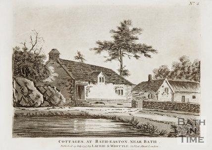 Cottages at Batheaston 1797