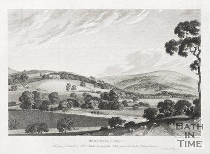 Bailbrook Lodge. The Seat of Denham Skeet LLD c.1786