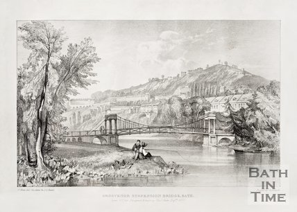Grosvenor Suspension Bridge 1830