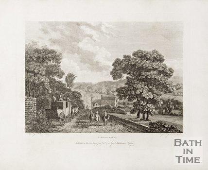 View near Bath (at Batheaston) 1785