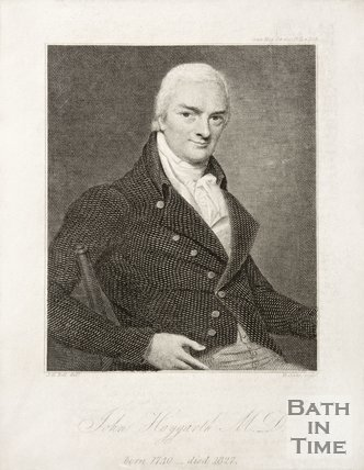 Portrait of John Haygarth M. D.