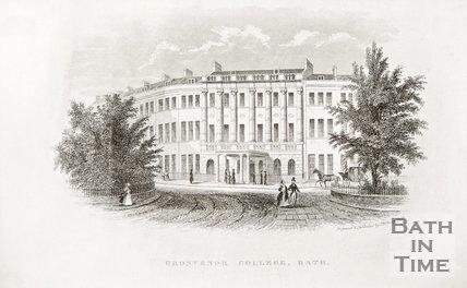 Grosvenor College, 1845