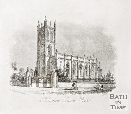 St. Saviours Church Larkhall, Bath 1851