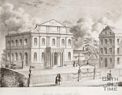 Wesleyan Chapel, Walcot c.1850?