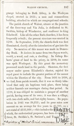 Page 247 from Rambles about Bath and its Neighbourhood, 1847