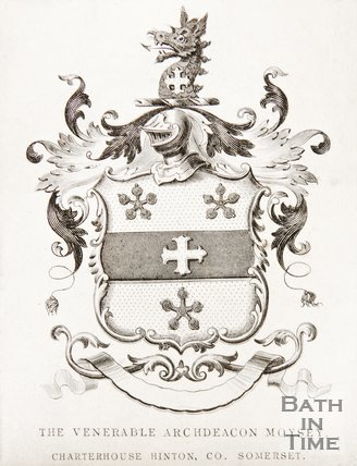 Coat of Arms of the Venerable Arch Deacon Moysey