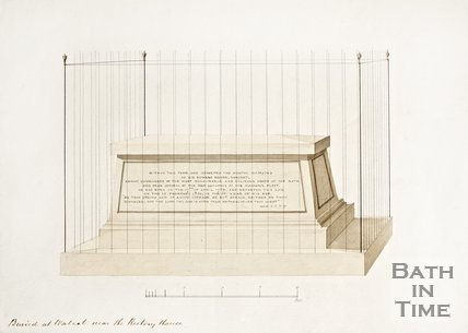 Image of the tomb of Sir Edward Berry at Walcot near the Rectory House