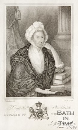 Portrait of the Right Honourable Selina Countess Dowager of Huntingdon