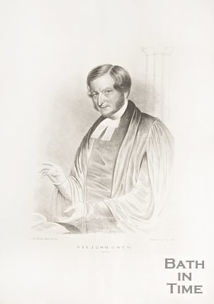 Portrait of Reverend John Owen of Bath