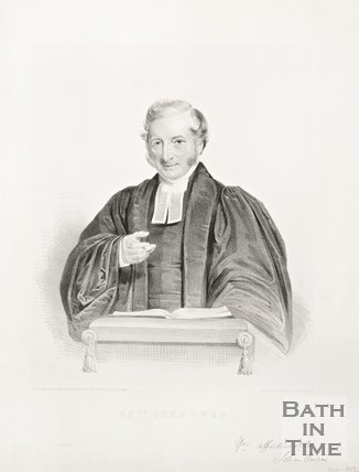 Portrait of Reverend John Owen, 1852