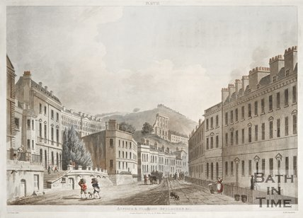 Axford's and Paragon Buildings, 1804